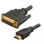Gembird® kabelis no DVI uzHDMI