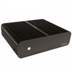Korpuss Akasa EulerS Fanless Mini-ITX front USB no PSU unbranded