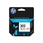 Tintes kasete HP 302 Tri-color