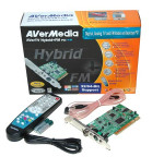 Aver TV Hybrid + FM PCI uztvērējs