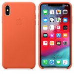 iPhone XS Max Leather Case - Sunset EOL