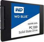 """SSD disks WD Blue, 250GB, 500/ 540 MBytes/ sec, 2.5"""" 7mm"""