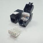 Netrack Keyston Jack Module 1xRJ45 8p8c, cat. 5e FTP, toolless