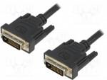 ASSMANN DVI-D SingleLink Connection Cable DVI-D (18+1) 0.5m