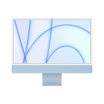 "iMac 24"" 4.5K Retina, Apple M1 8C CPU, 8C GPU/ 8GB/ 512GB SSD/ Blue/ RUS"