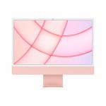 """iMac 24"""" 4.5K Retina, Apple M1 8C CPU, 8C GPU/ 8GB/ 256GB SSD/ Pink/ INT"""