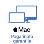 MacBook Pro 16'' pagarinātā +1 gada garantija (1+1)