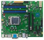 Pamatplate FUJITSU D3401-B2  µATX, 2xDP, 1xDVI-D, Intel Q150, LGA1151, 4xDDR4, TPM, M.2 (SATA & PCIe x2))