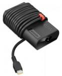 ThinkPad Slim 65W AC Adapter (USB-C) for travelling