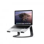Statīvs Twelve South Curve aluminium stand for MacBook - Matte black