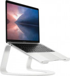 Statīvs Twelve South Curve SE aluminium stand for MacBook - white