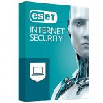 ESET Internet Security, 1 jauna licence uz 1 gadu (pieejams līdz 10 darba stacijām)