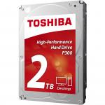 "Cietais disks 2TB - Toshiba P300 SATA3 3.5"" 7200RPM 64MB cache"