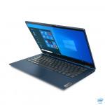 "Portatīvais dators Lenovo ThinkBook 14s Yoga ITL Abyss Blue, 14.0"" IPS Touchscreen FHD/ Glossy/ i5-1135G7/ 16GB/ 512GB SSD/ Intel Iris Xe/ Win10Pro/ BT/ Eng/ 1Yr"