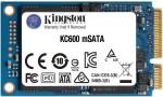 """SSD 256GB - Kingston KC600 2.5"""" SATA III R/ W 550/ 500MB/ s"""