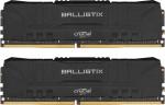 Atmiņa Crucial Ballistix 2x8GB (16GB Kit) DDR4 3200MT/ s CL16 Unbuffered DIMM 288pin Black