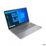 """Portatīvais dators Lenovo ThinkBook 15 G2 ITL Mineral Grey, 15.6 """", IPS, FHD 1920x1080/ Matt/ i7-1165G7/ 16GB/ 512GB SSD/ Intel Iris Xe/ Win10Pro/ Eng/ 1Yr"""