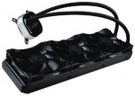 Procesora ūdensdzese EVGA CLC 360 400-HY-CL36-V1 All-In-One RGB LED CPU Liquid Cooler, 3x FX12 120mm PWM Fans, Intel, AMD