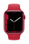 Apple Watch Series 7 GPS, 45mm (PRODUCT)RED Aluminium Case with (PRODUCT)RED Sport Band - Regular