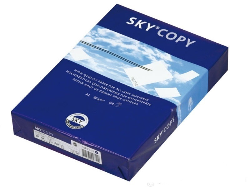 Biroja papīrs 80g/m2 Sky Copy (500 loksnes) 0