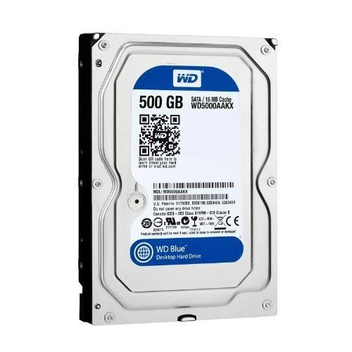 Cietais disks WD Blue 500GB 7200rpm SATAIII 16M/32MB 0