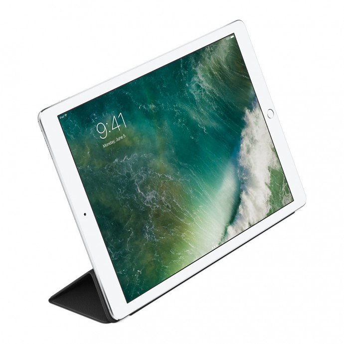 MPV62 Leather Smart Cover for 12.9-inch iPad Pro - Black 3