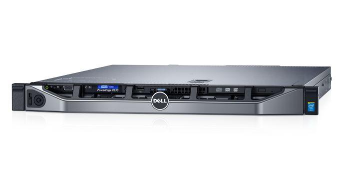 Serveris DELL PowerEdge R330/4 x 3.5 HotPlug/Xeon E3-1220 v6/8GB/1TB/Rails/Bezel/DVD RW/On-Board LOM DP/Embd SATA/iDRAC8 Exp/3Yr 0