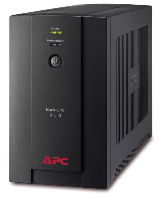 Nepārtrauktās barošanas bloks APC Back-UPS 950VA, 230V, AVR, IEC Sockets 0