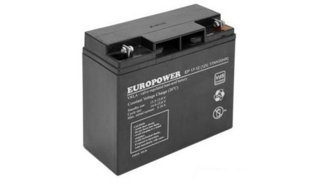 Akumulātors Europower EMU 12V 17Ah 0