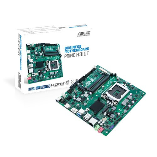 Pamatplate ASUS H310T PRIME, LGA1151 Mini ITX 0