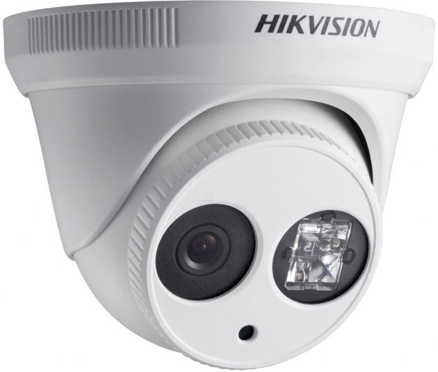 Hikvision DS-2CD2342WD-I Turret Network Camera, F2.8 mm, 4.0 MP, Power over Ethernet (PoE), 1520p 0