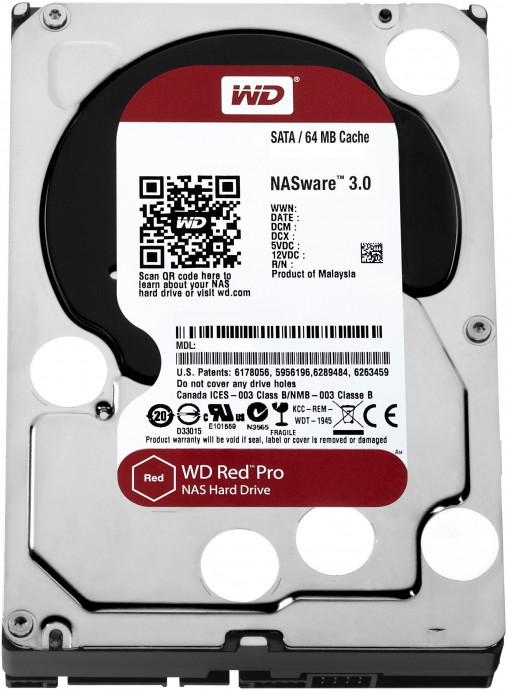 Cietais disks WD Red Pro 8TB SATA 6Gb/s 256MB Cache Internal 3,5inch 24x7 7200rpm 0