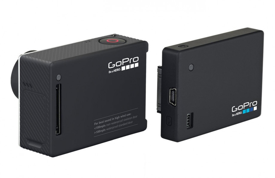 GoPro baterijas komplekts Battery BackPack Hero3/3+/4 2