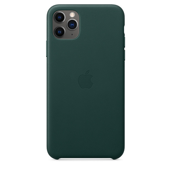 iPhone 11 Pro Max Leather Case - Forest Green 0