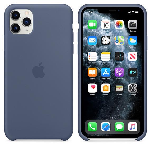 iPhone 11 Pro Silicone Case - Alaskan Blue EOL 2