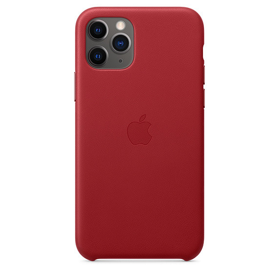 iPhone 11 Pro Leather Case - (PRODUCT)RED EOL 0