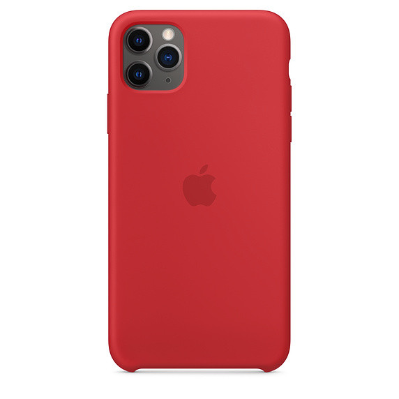 iPhone 11 Pro Max Silicone Case - (PRODUCT)RED EOL 0