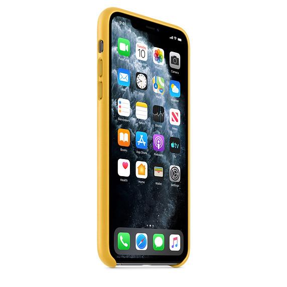 iPhone 11 Pro Leather Case - Meyer Lemon 1