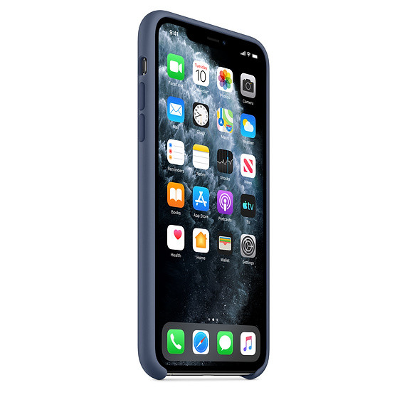iPhone 11 Pro Silicone Case - Alaskan Blue EOL 1