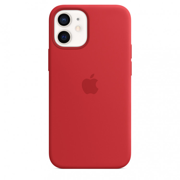 iPhone 12 mini Silicone Case with MagSafe - (PRODUCT)RED 3