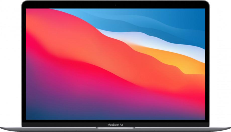 """MacBook Air 13"""" Apple M1 8C CPU, 7C GPU/8GB/256GB SSD/Space Grey/INT 2020. 0"""