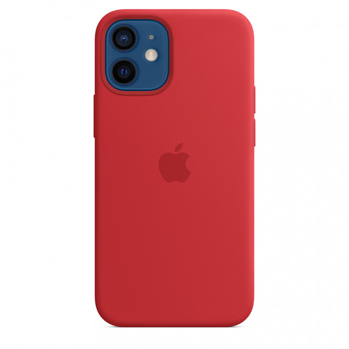 iPhone 12 mini Silicone Case with MagSafe - (PRODUCT)RED 0
