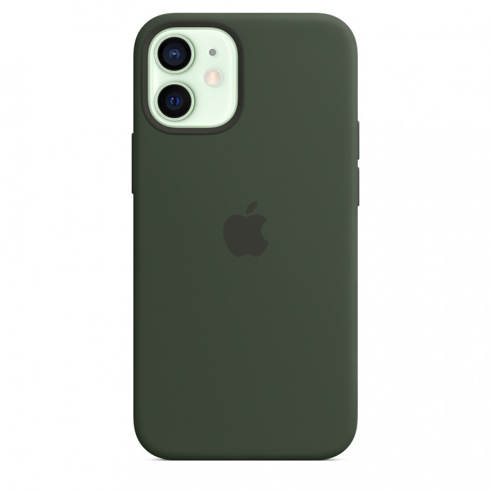 iPhone 12 mini Silicone Case with MagSafe - Cyprus Green 1