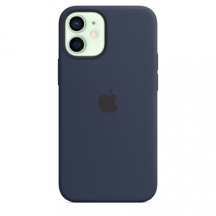 iPhone 12 mini Silicone Case with MagSafe - Deep Navy 3