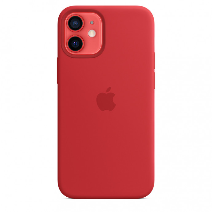 iPhone 12 mini Silicone Case with MagSafe - (PRODUCT)RED 2