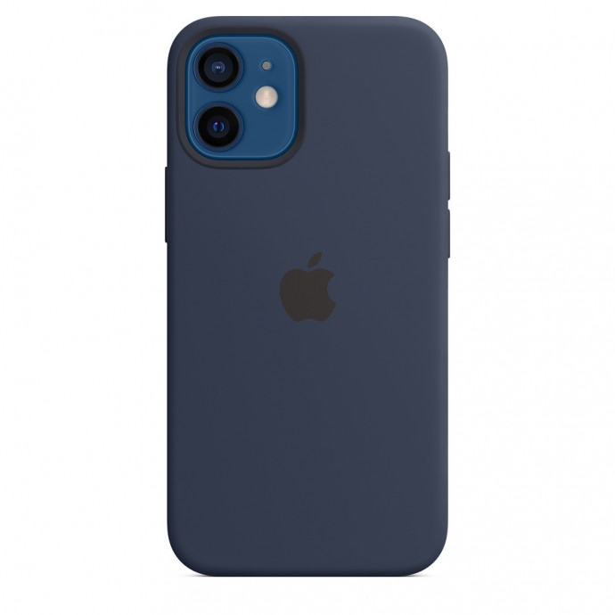 iPhone 12 mini Silicone Case with MagSafe - Deep Navy 0