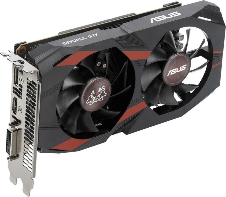 Videokarte ASUS NVIDIA GeForce GTX 1050 Ti CERBERUS 4GB 1
