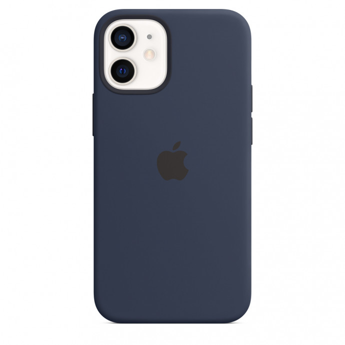iPhone 12 mini Silicone Case with MagSafe - Deep Navy 1