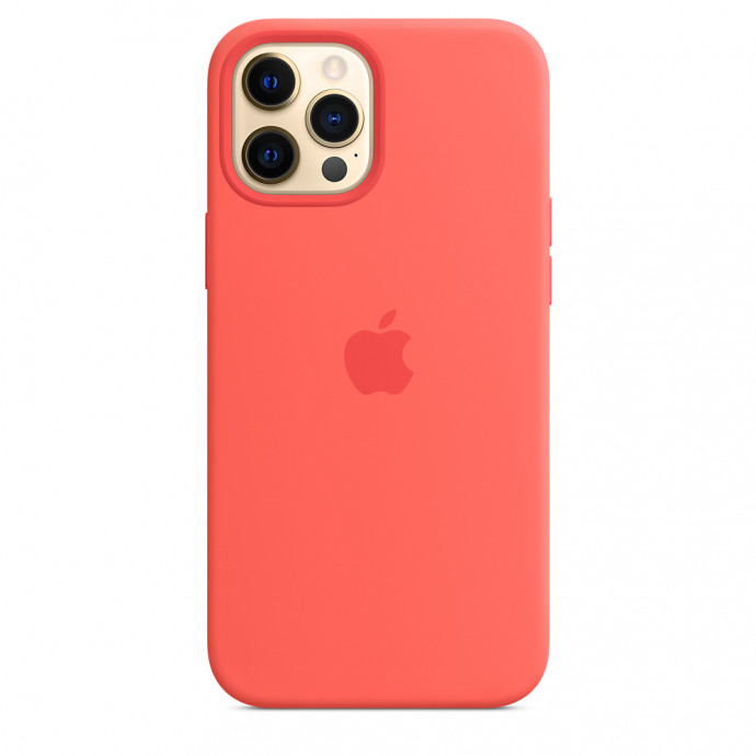 iPhone 12 / 12 Pro Silicone Case with MagSafe - Pink Citrus 2