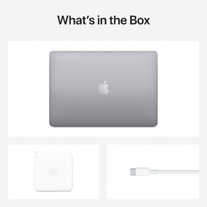 "MacBook Pro 13.3"" Apple M1 8C CPU, 8C GPU/8GB/512GB SSD/Space Gray/RUS 2020 5"